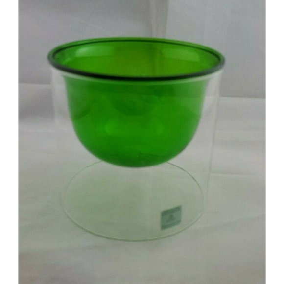 Party Lite Glass Candle Holder Refillable Tealight